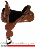 "13.5"" to 16.5"" Circle Y Tammy Fischer Treeless Daisy Barrel Racing Saddle 1308 *free pad or cash discount*"
