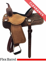"SOLD 2016/10/30  13.5"" Reinsman Molly Powell Barrel Saddle 4260 CLEARANCE"