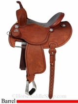 "13.5"" to 14.5"" Martin Saddlery FX3 Barrel Racing Saddle mr67P"