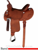 "13.5"" to 14.5"" Martin Saddlery FX3 Barrel Racing Saddle mr67PFS"