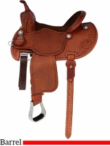 "** SALE ** 12.5"" to 15.5"" Martin Saddlery FX3 Barrel Racing Saddle mr67PFS"
