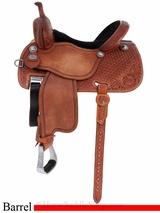 "13.5"" to 14.5"" Martin Saddlery Sherry Cervi Crown C Barrel Racer mr97MDS"