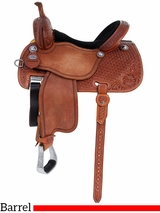 "12.5"" to 15"" Martin Saddlery Sherry Cervi Crown C Barrel Racer mr97MDS"