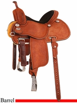 "13.5"" to 14.5"" Martin Saddlery Sherry Cervi Crown C Barrel Racer mr97P"
