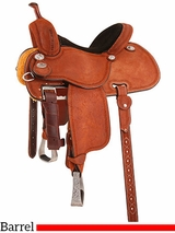 "** SALE ** 12.5"" to 15"" Martin Saddlery Sherry Cervi Crown C Barrel Racer mr97P"