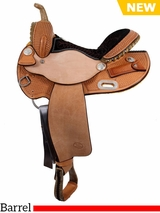 "** SALE ** 13.5"" to 16"" Billy Cook Barrel Saddle 1526"