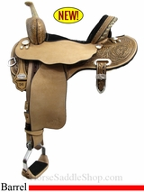 "13.5"" to 17"" Circle Y Josey Ultimate Hiphugger Barrel Saddle 1174"