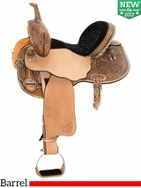 "** SALE ** 13.5"" to 17"" Circle Y Josey Ultimate Hiphugger Barrel Saddle 1174 w/Free Pad"