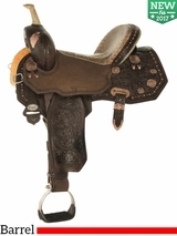 "** SALE ** 13.5"" to 17"" Circle Y Martha Josey Ultimate Legend Barrel Saddle 1197 w/Free Pad"