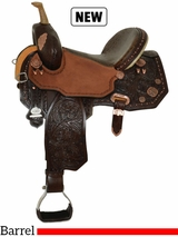"13.5"" to 17"" Circle Y Martha Josey Ultimate Legend Barrel Saddle 1197 w/Free Pad"
