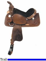 """** SALE ** 13"""" American Saddlery Trail Master General Grant Youth Trail Saddle 215"""