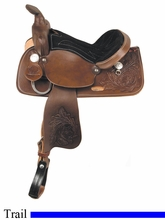 """13"""" American Saddlery Trail Master General Grant Youth Trail Saddle am215"""