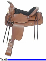"""13"""" American Saddlery Trail Master General Lee Youth Trail Saddle 315"""