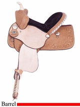 "13"" American Saddlery Youth Pro Barrel Racing Saddle am708"