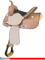 "** SALE ** 13"" Billy Cook Feather Junior Barrel Saddle 291269"