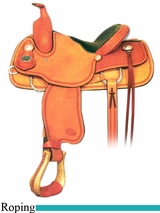 "13"" Crates Youth Roping Saddle 172"