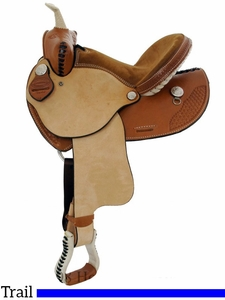 "13"" Dakota Child's Trail Saddle 910s"
