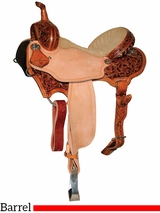 "13"" to 15.5"" Reinsman Charmayne James Arizona Flower Barrel Saddle 4282"