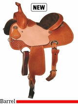 "13"" to 15.5"" Reinsman Charmayne James Barrel Saddle 4288"