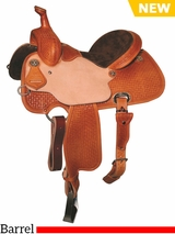 "** SALE ** 13"" to 15.5"" Reinsman Charmayne James Barrel Saddle 4288"
