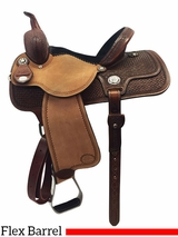"13"" to 15"" Reinsman Molly Powell Barrel Saddle 4260"