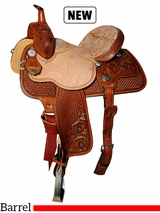 "13"" to 15"" Reinsman Molly Powell Barrel Saddle 4263"