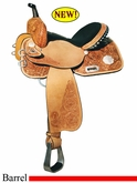 "** SALE **13"" to 16"" Circle Y Johnson Competitor Barrel Saddle 1502 *free gift*"