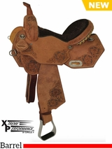 "13"" to 16"" Circle Y XP Blessing Barrel Saddle 2163 w/Free Pad"