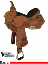 "** SALE ** 13"" to 16"" Circle Y XP Blessing Barrel Saddle 2163 w/Free Pad"