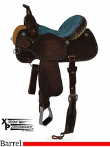 "** SALE ** 13"" to 16"" Circle Y XP Trinity Barrel Saddle 2162 w/Free Pad"