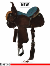 "13"" to 16"" Circle Y XP Trinity Barrel Saddle 2162 w/Free Pad"