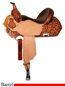 "** SALE **13"" to 16"" Circle Y XP Lady Lake Barrel Saddle 2160"