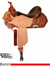 "13"" to 16"" Circle Y XP Lady Lake Barrel Saddle 2160 w/Free Pad"