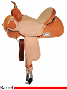 "13"" to 16"" Circle Y XP Libby Barrel Saddle 2159 w/Free Pad"