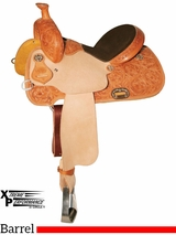 "13"" to 16"" Circle Y XP Sidney Barrel Saddle 2157 w/Free Pad"