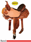 "13"" to 16"" Circle Y XP Silesia Barrel Saddle 2156 *free gift*"