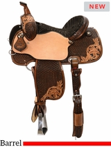 "** SALE ** 13"" to 16"" Reinsman Charmayne James Barrel Racer 4279 w/Free Pad"