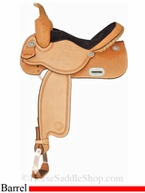 "13"" to 16"" Tex Tan Finals Round Barrel Saddle 292220"