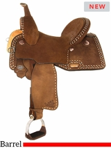 "** SALE ** 13"" to 17"" Circle Y Ty Mitchell Ultimate Renegade Barrel Saddle 1152 w/Free Pad"