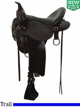 "13"" to 17"" High Horse by Circle Y Little River Trail Saddle 6863"
