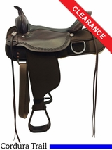 "17"" High Horse by Circle Y Magnolia Cordura Trail Saddle 6909 CLEARANCE"