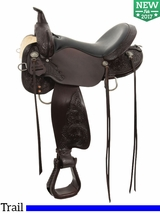 "13"" to 17"" High Horse by Circle Y Mesquite Trail Saddle 6864"