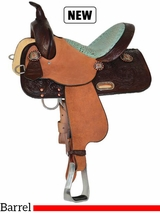 "13"" to 17"" High Horse by Circle Y Runaway Barrel Saddle 6223"