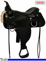 "** SALE ** 13"" to 17"" High Horse by Circle Y Star Trail Saddle 6922"