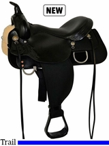 "13"" to 17"" High Horse by Circle Y Star Trail Saddle 6922"