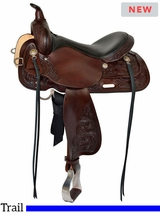 "** SALE ** 13"" to 17"" High Horse by Circle Y Texas City Trail Saddle 6821"