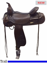 """** SALE ** 13"""" to 17"""" High Horse by Circle Y Texas City Trail Saddle 6821"""