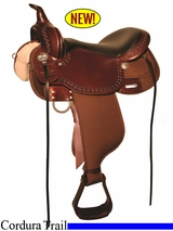 "13"" to 17"" High Horse Willow Springs Cordura Trail Saddle 6913"