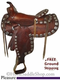 "13"" Used Pleasure Saddle usun2535 *Free Shipping*"
