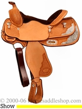 "14.5"" Billy Cook Youth Show Saddle 3298"